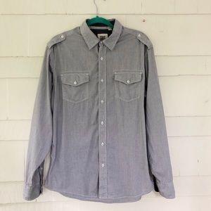 Paper, Denim & Cloth Button Up